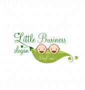Child Care Elegant Education Logo Template