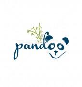 Panda Creative Animal Logo Template