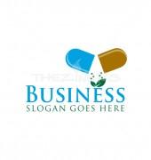 Leaf Medicine Medical & Health Solutions Logo Design