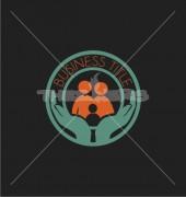 Title Family Premade Community Logo Design
