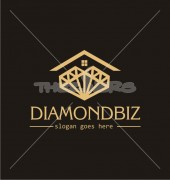 Diamond House Property solutions Logo Template