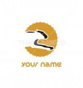 Running Leopard Abstract Logo Template