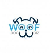 Woof Dog Creative Pet Logo Template