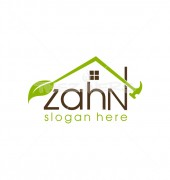 Green House Maker Abstract Housing Logo Template