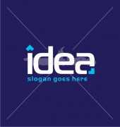 IA Idea Typography Elite Logo Template
