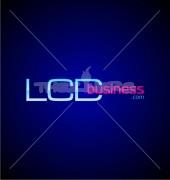 LCD Letter Rich Premade Logo Design