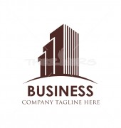 Commercial Builder Premade Housing Logo Vector