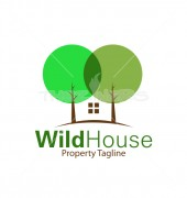 Eco Housing Real Estate Logo Symbol