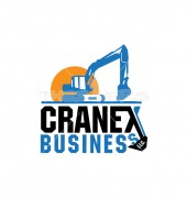 Cranex Crane Maintenance Logo Template