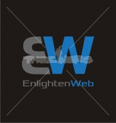 EW Enlighten Web Creative Premade Logo Design