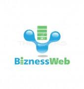 Smart Web Security Logo Template