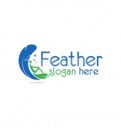 Feather Natural Clean Affordable Logo Design