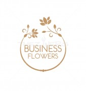 Floral Necklace Creation Logo Template