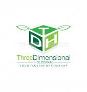 DTH Dimensional Media Logo Template