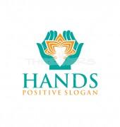 Flower Hands Creative Logo Template