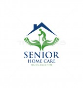 Senior Home Global Services Logo Template