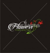 Flower Spring Abstract Design Logo Template