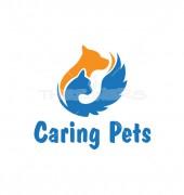 Animal Foxy Tail Abstract Animal Logo Template