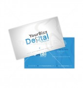 Dental Double-Sided Business Card Template
