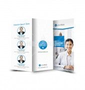 Medical Healthcare Trifold Template