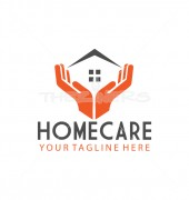Cared Home Real Estate Logo Template
