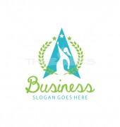 A Triangle-N-Girl Premade Non Profit Logo Design