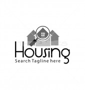 Prospecting Home Premade Housing Services Logo design