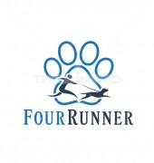 Claw Pet Runner Premade Logo Design