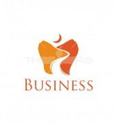 Unique Teeth Premade Medical Solutions Logo Design
