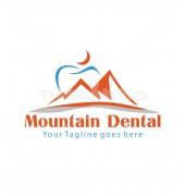 Teeth Mountain Medical Logo Template