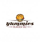 Yummy Burger Street Premade Logo Template