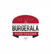 Burger Pie Fast Food & Restaurant Logo Template