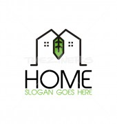 Pioneering Home Property Solutions Logo Template
