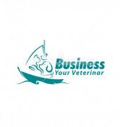 Animal At Sea Logo Template