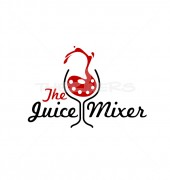 Juice Mixer Entertainment Creative Logo Template