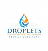 Droplet Engineering Abstract Car Logo Template