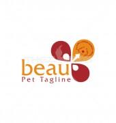 Pet Beauty Pet Health Clinic Logo Template