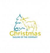 Reindeer Animal Abstract Animal Logo Template