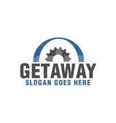 Getaway Gear Automotive Logo Template
