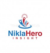 Health Insight Medical Solution Logo Template