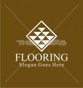 Crystal Flooring Abstract Product Logo Template
