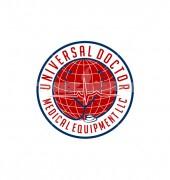 Doctor World Medical Logo Template