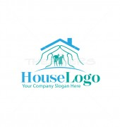 Senior Home Housing Logo Template