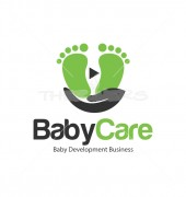Baby Care Unique Health Care Logo Template