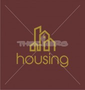 Housing & Apartment Real Estate Logo Template