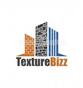 House Texture Premade Housing Logo Vector