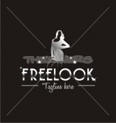 Free Look Fashion & Entertainment Logo Template