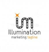 IM Letter Illumination Elegant Premade Logo Template