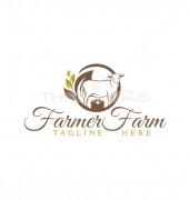 Farmer Farm Premade Creative Product Logo Symbol