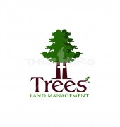 Cross Tree Manufacturing Premade Logo Design